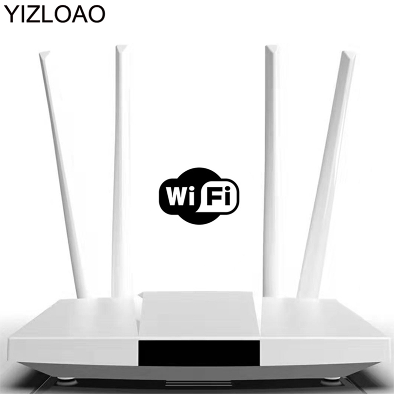 YIZLOAO CPE 4G Wifi Router 4G Ethernet Gateway FDD LTE WCDMA Wireless Modem Router Sim External Antennas WAN/LAN Port Hotspots