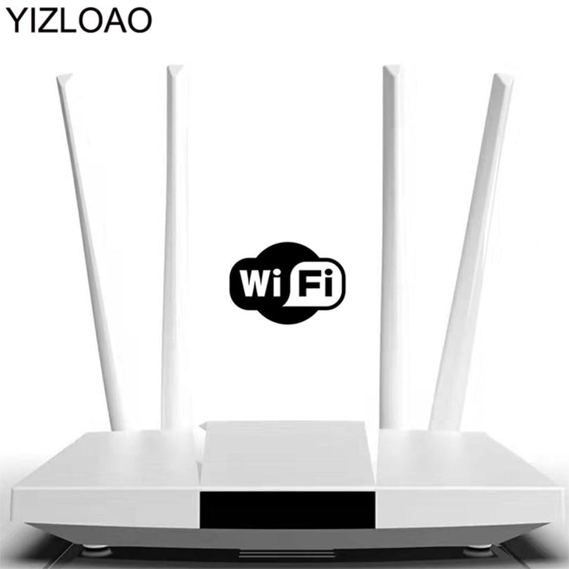 YIZLOAO CPE 4G Wifi Router 4G Ethernet Gateway FDD LTE WCDMA Wireless Modem Router Sim External Antennas WAN/LAN Port Hotspots