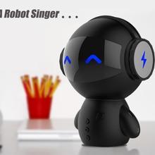 Robot Intelligent Audio Bluetooth Speaker Wireless Convenience Soundbar Enceinte Bluetooth Home Theater