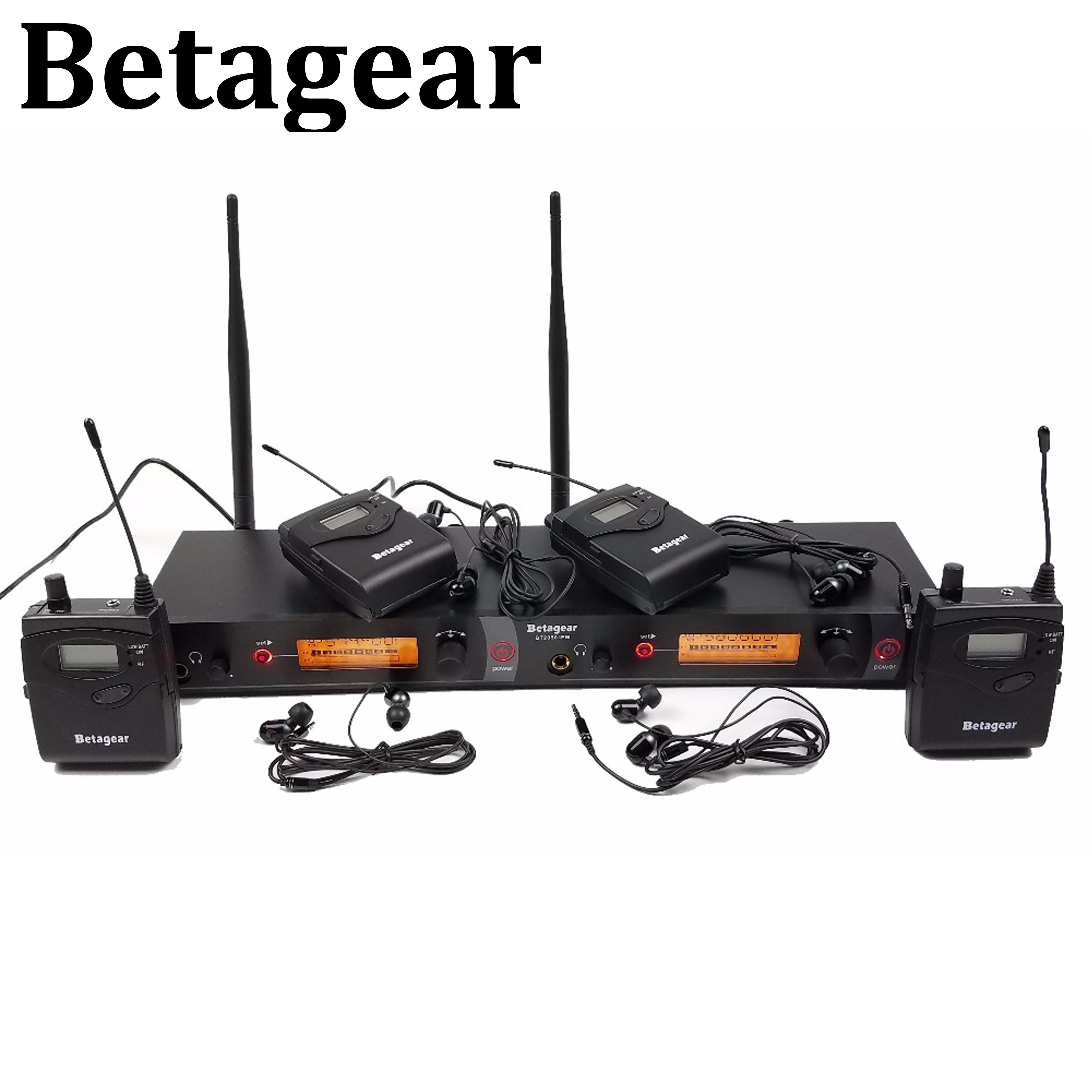 Betagear SR2050 IEM 4 Empfänger in ohr bühnen system monitor BT2050 kopfhörer bühne monitor iem überwachung system für preformance