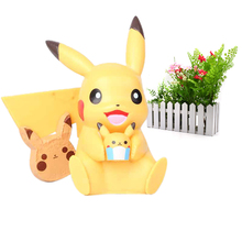 цена на Anime Cartoon Pikachu PVC Toy Action Figure Doll Gift Toy  Cartoon Cute  Model Toys Christmas Gift For Children