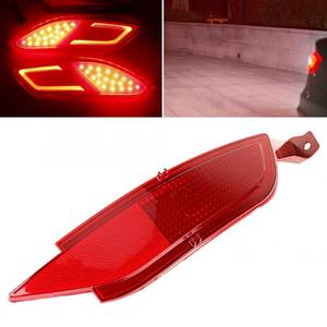 Car Rear Bumper Right Fog Light Reflector Tail Reverse Fog Lamp Fit for FORD FIESTA MK7 2008-2016