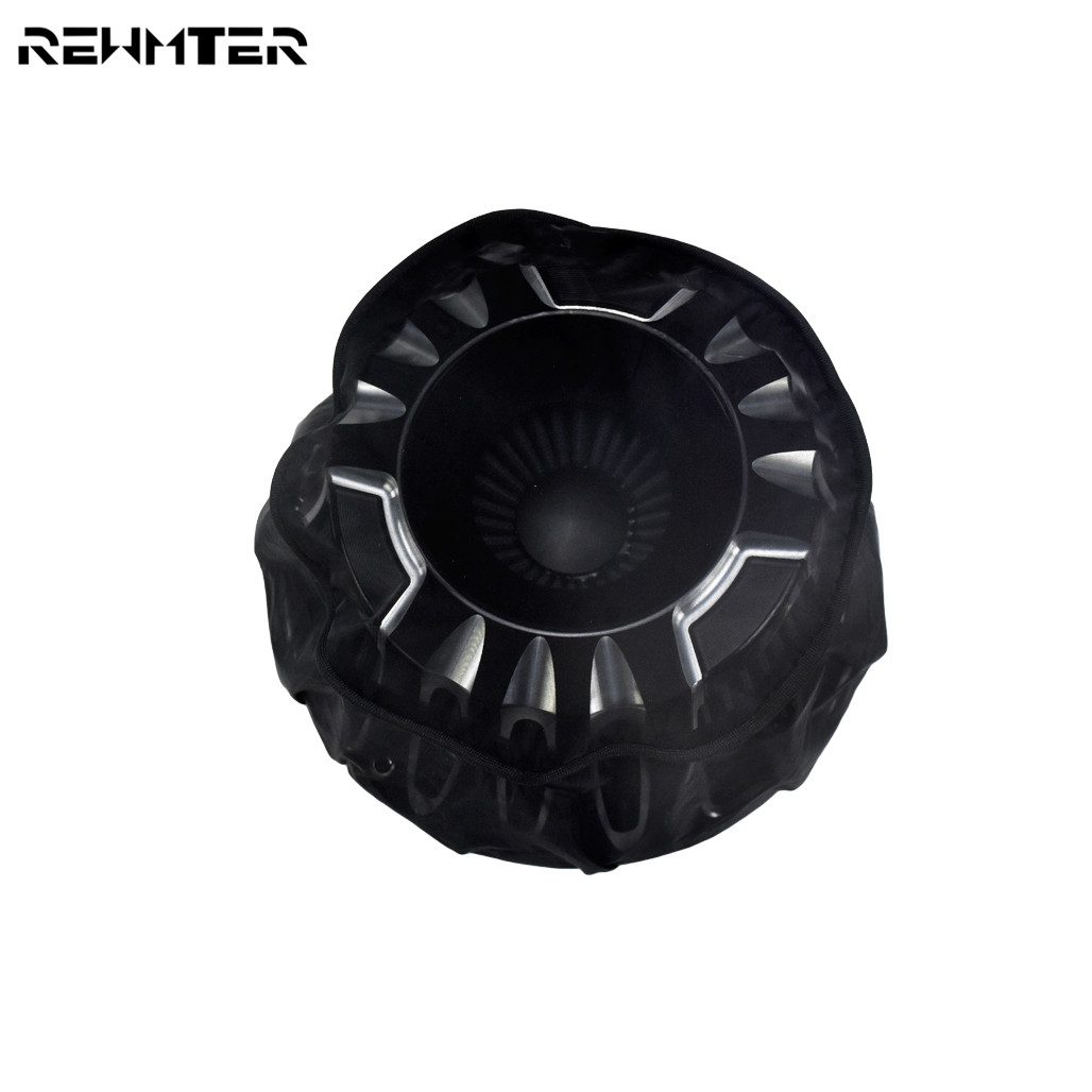 Motorcycle Waterproof Air Filter Rain Sock Dustproof Protective Cover For Harley Dyna Sportster Touring Softail Air Cleaner Kits