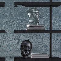 Creative Flash Powder Skull Glass Ornaments Home Decorations Festival Gifts