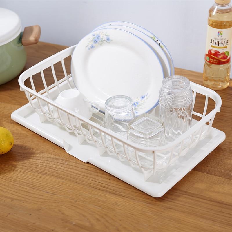 Wholesale Kitchen Dish Rack Bowl And Dish Water Draining Frame Fruit Water Draining Basket Tableware Storage Frame Multi-Purpose