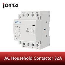 Contattore ca per uso domestico su guida din 4P 32A 220V/230V 50/60HZ 1NO 3NC/ 2NO 2NC/3NO 1NC/4NO/4NC