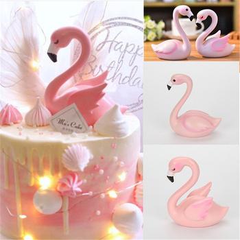 Różowe flamingi narzędzie do dekoracji ciast akrylowy Topper do ciasta dekoracja urodzinowa deser ślubny dzień matki prezent hawaje Party Decor tanie i dobre opinie CN (pochodzenie) Ślub i Zaręczyny przyjęcie urodzinowe Na Dzień Dziecka Na imprezę CHRISTMAS Rocznica Walentynki M181742