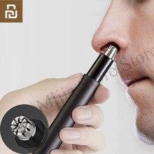 Youpin Newstart électrique Mini nez tondeuse à cheveux HN1 Portable oreille nez cheveux rasoir tondeuse étanche sûr nettoyant outil pour hommes