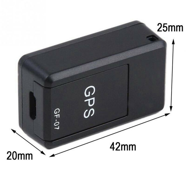 Mini GPS Locator Long Standby Magnetic SOS Tracker Device Voice Recorder GF-07 6