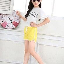 Clothing Shorts Beach-Pants Kids Summer Boys New Hot Sheecute Girls 0902 Candy-Color