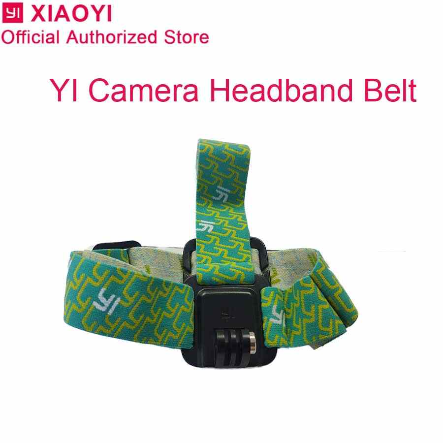 Original yi Head Belt Adjustable Head Strap Band Session for Xiaomi Yi 1080p 4k 4K plus Lite Action Camera Outdoor Accessories