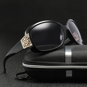 Top Oversized Black Sunglasses Fashion Women Large Size Big Retro Mirror Sun Glasses for women Lady Female Brand Designer
