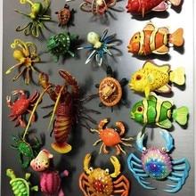 BABELEMI милый 3D Maldives Балийский Боракай Палау морские животные сувенир Весна кинетическая магнитная наклейка магнит на холодильник подарок для детей