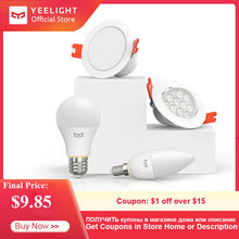 Yeelight Smart Source de lumière ensemble Kits intelligents ampoule lampe/Downlight/projecteur/bougie lampe travail avec MI maison Bluetooth maille édition(China)