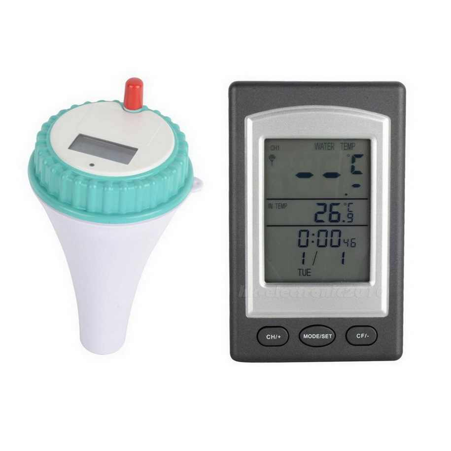 1 шт. профессиональный беспроводной цифровой для бассейна, спа плавающий термометр новое поступление