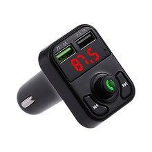 Ultooop transmissor fm aux modulador bluetooth 5.0 kit de áudio do carro carro leitor mp3 duplo usb 3.1a carregador de carro rápido