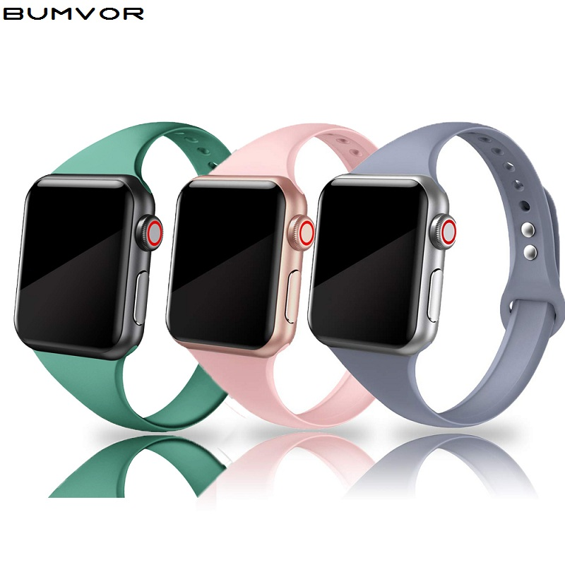 Strap For Apple Watch Strap 38mm Sports Silicone IWatch Strap 40mm Strap Bracelet Correa Apple Watch 5/4/3/2/1accessories