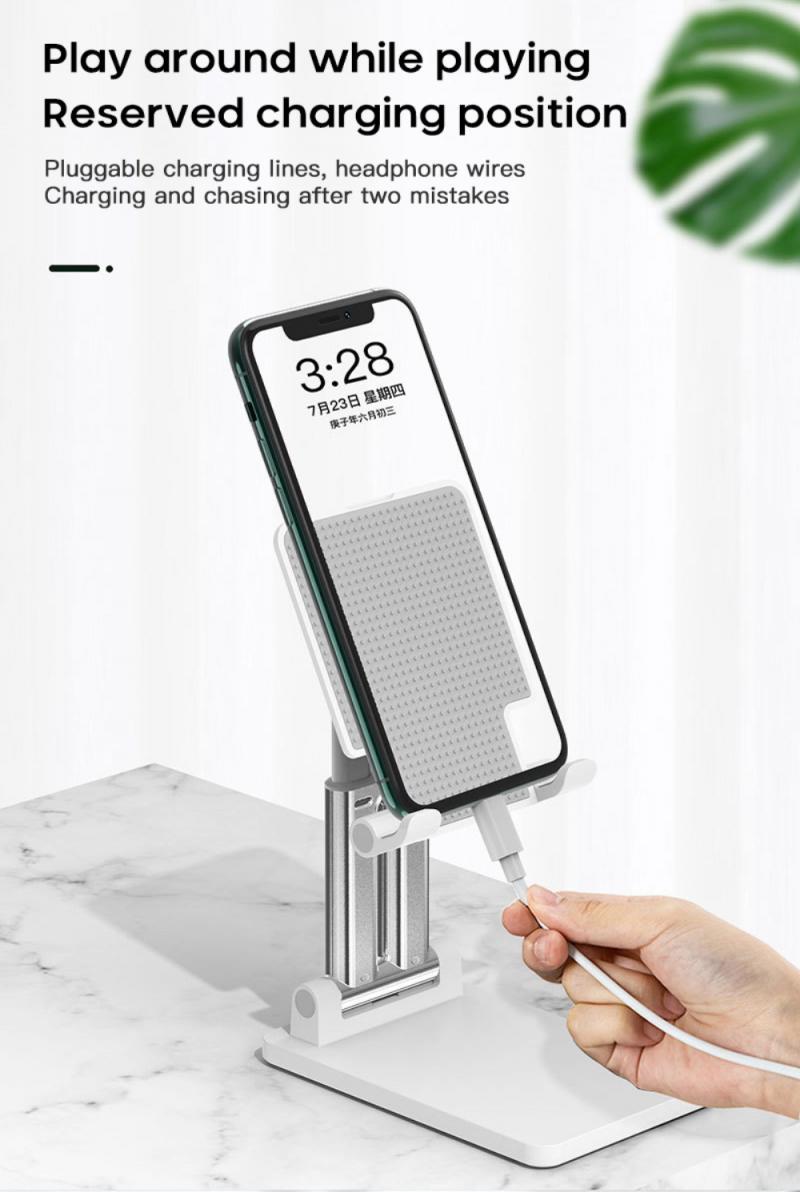 Liga de alumínio suporte do telefone móvel