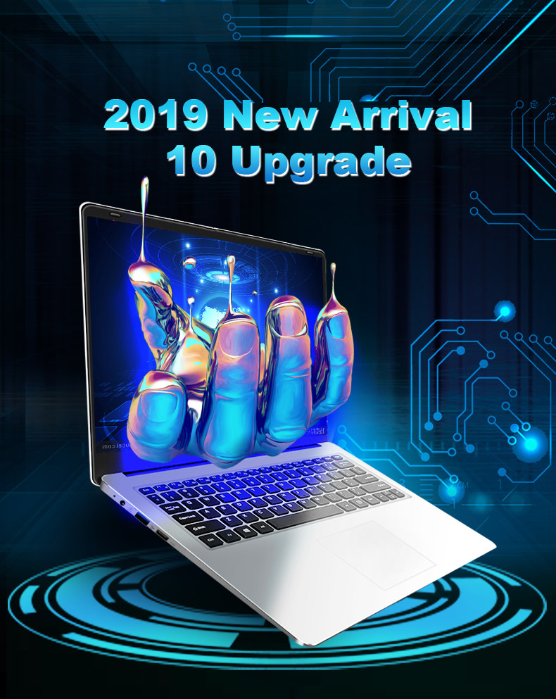 Laptop 15.6 inch 8G RAM 128G 256G 512G 1TB SSD ROM Notebook Computer intel Core Quad Windows 10 Ultrabook For Students Office