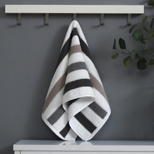 2pcs 34*76cm stripe Cotton Towels Bathroom for adults cloth Men Women travel Towel Super Absorbent Shower home bathroom