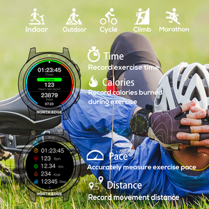 Image 5 - צפון קצה GPS ספורט שעון Bluetooth שיחת רב ספורט מצב גובה מצפן חיצוני ריצה מוסיקה חכם שעון קצב לב
