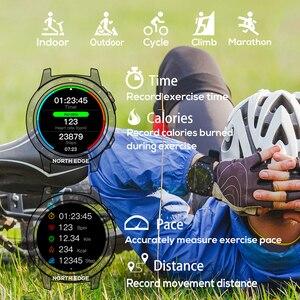 Image 5 - Nord Bordo GPS di Sport Della Vigilanza di Bluetooth di Chiamata Multi Modalità Sport Altitudine Bussola Outdoor Corsa E Jogging Musica Astuto Della Vigilanza di Frequenza Cardiaca
