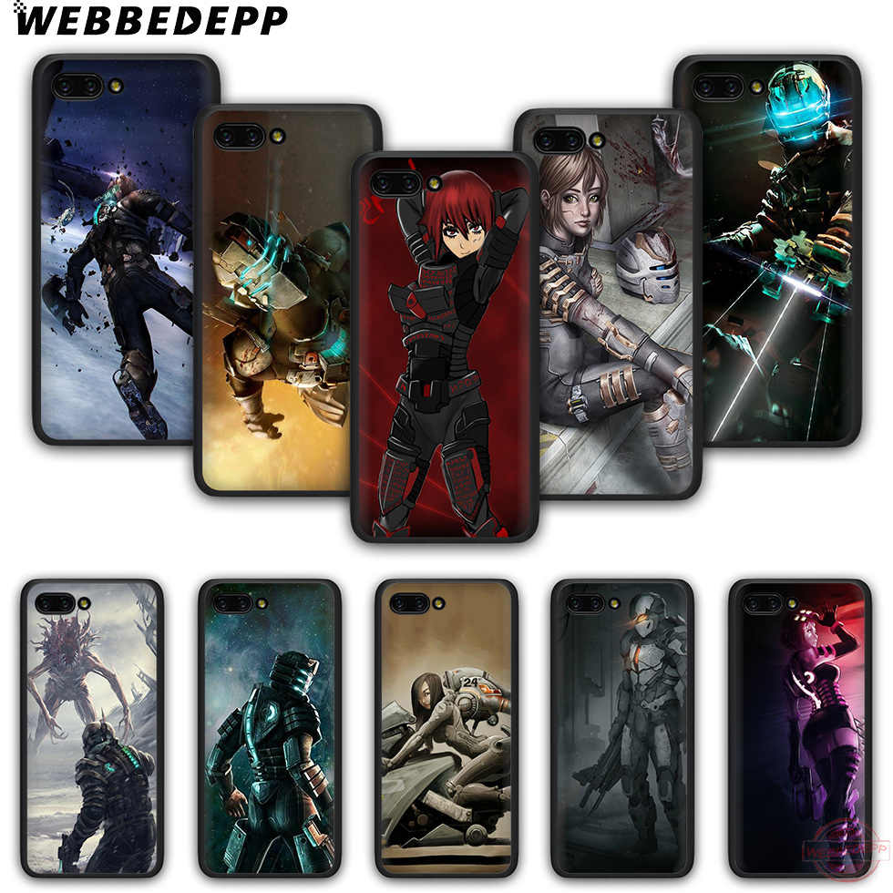 WEBBEDEPP デッドスペース Tpu 電話ケース名誉 6A 7A 2 ギガバイト/3 ギガバイトプロ 7C 5.99in 7X 8X 8C 9 10 Note10 ため 8 9 10 Lite