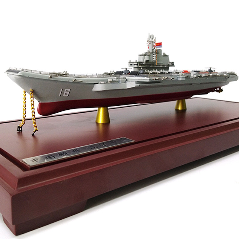 36cm Liaoning Aircraft Carrier Model 1: 1000 Warship Battleship Military Navy Ship Decoration Souvenir Gift