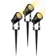 Новый стиль 3 Вт 5 cob садовая лампа для газона светильник 220