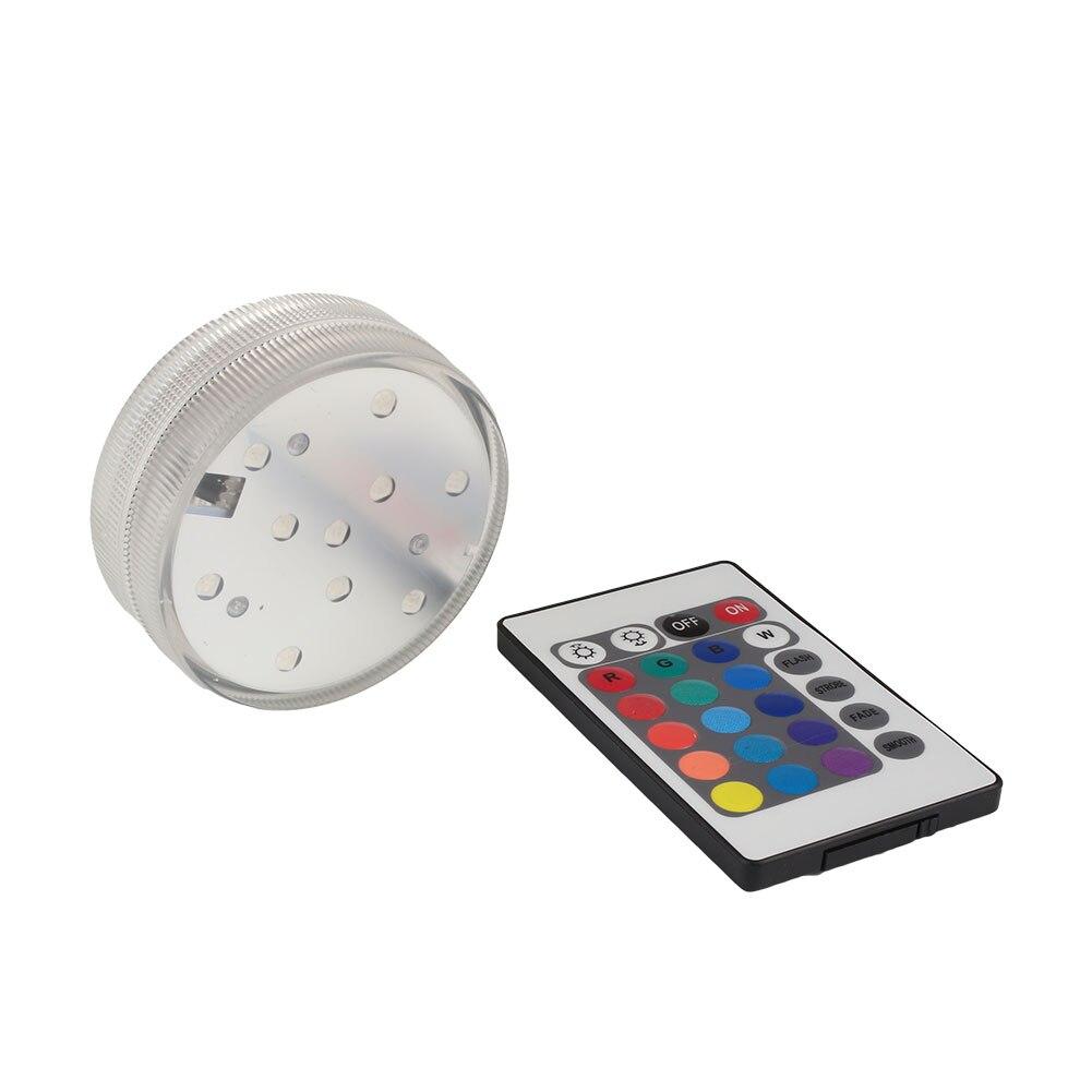 Светодиодный светильник с пультом дистанционного управления, разноцветный аквариумный погружной светильник, декоративный резервуар