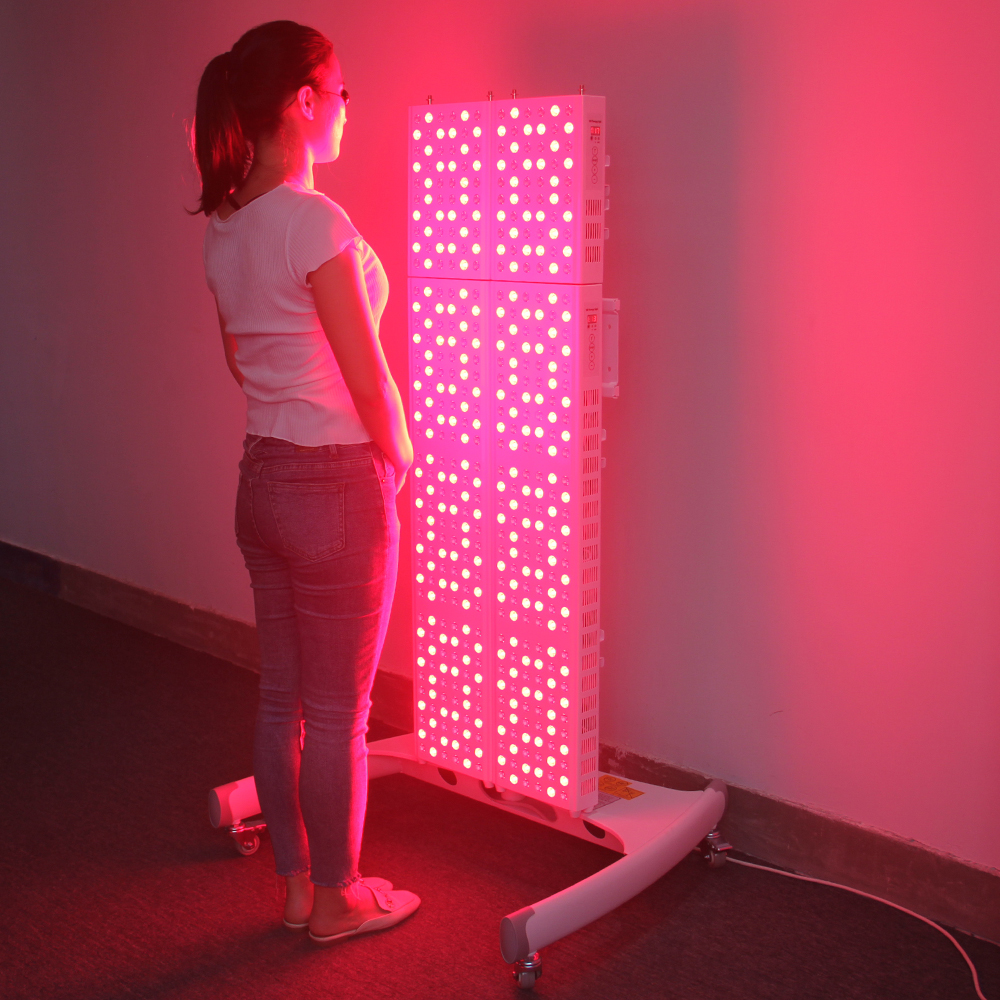 Factory Wholesale Professional Low Emf Red Light Therapy With Timer 660nm 850nm 300W Full Body Red Light Therapy Panel