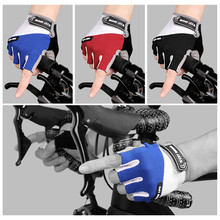 Soft Half Finger Cycling Gloves Anti Slip Motorcycle MTB Road Bike Gloves Men Women Sports Bicycle Gloves Bike Accessories mtb bicycle gloves hand protection mittens cycling bike half finger gloves for bicycle accessories sports gloves