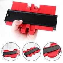 Perfil ferramentas de medição duplicador profundo tiling laminado carpintaria multi-funcional irregular calibre de contorno plástico regido