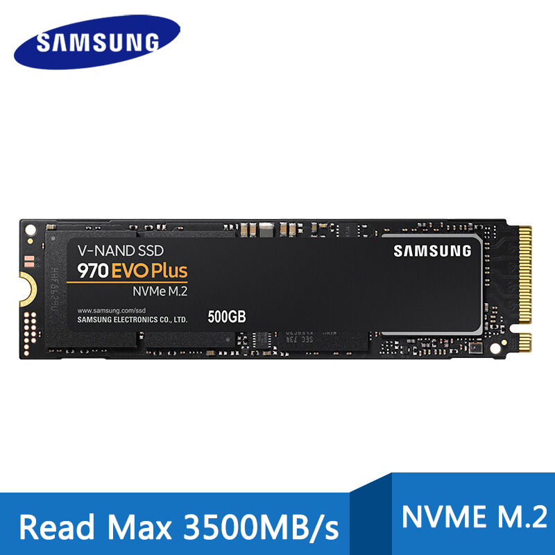 SSD-накопитель Samsung M.2 nvme 970 EVO PLUS, 250 ГБ, 500 Гб, m2 pcie, 2 ТБ