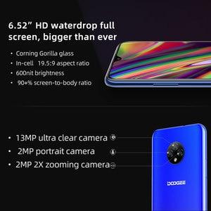 """Image 3 - DOOGEE X95 Android 10 Điện Thoại Di Động 13MP Camera 6.52 """"Màn Hình Điện Thoại Di Động MTK6737 GB RAM 16GB Dual SIM 4350MAh 4G LTE Điện Thoại Thông Minh"""
