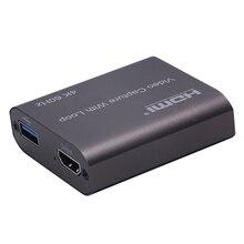Grabber Conferencing USB3.0 HDMI Video Card 4K 60Hz HD 1080P