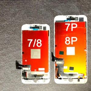 Image 2 - החלפה עבור iPhone 7 LCD מסך Digitizer עצרת עם תצוגת מגע עבור iphone 7 בתוספת LCD עבור iphone 8 LCD עבור iphone 8p