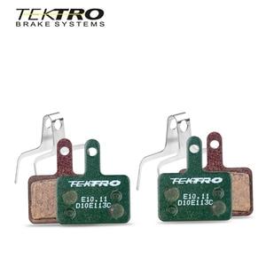 Image 1 - TEKTRO E 10,11 MTB Bremsbeläge Mountain Road Faltbare Fahrrad disc bremsbeläge Für shimano MT200/M355//M395/M415/M285/M286/M280