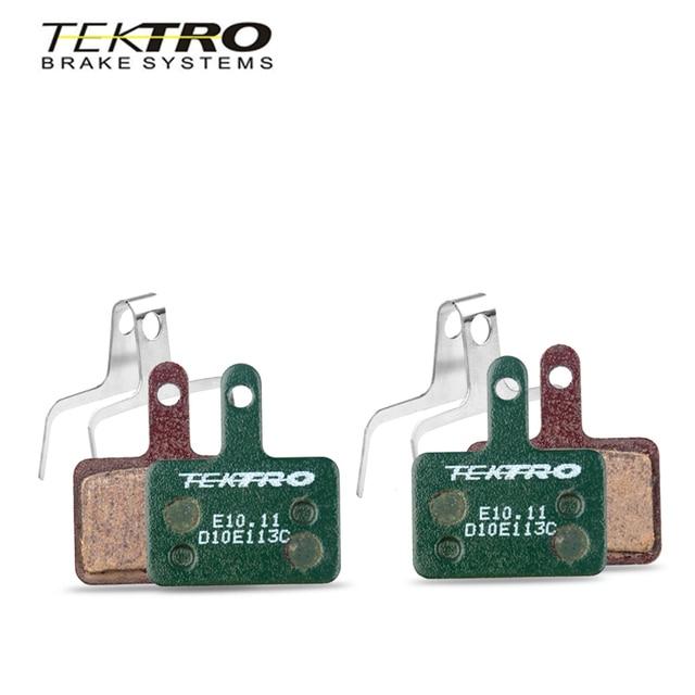 TEKTRO E10.11 plaquettes de frein vtt route de montagne pliable vélo plaquettes de frein à disque pour shimano MT200/M355//M395/M415/M285/M286/M280