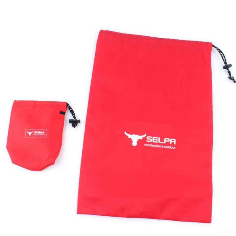 巾着収納袋耐久性のある防水フック下着オーガナイザー屋外旅行キャンプピクニックバッグハンドバッグトートバッグホット