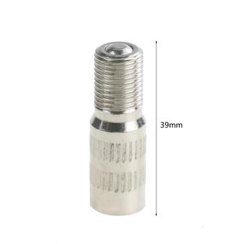 Zawór opony zawór przedłużający nadmuchiwana dysza powietrza wymiana koła opona Cap Extender Adapter dla Xiaomi M365 hulajnoga Pro Scooter tanie i dobre opinie CN (pochodzenie) Tire Valve Extension