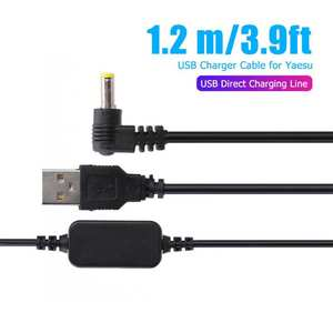Cable-Battery-Charging-Cord-Cable for Yaesu Vx-6r/Vx7r/Ft60r/.. Usb-Charger