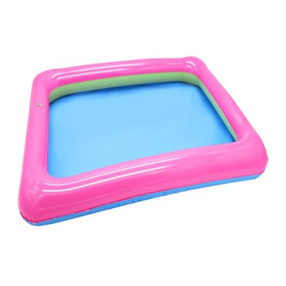 1Pcs Summer Pool Float Inflatable Sand Tray Toys For Children Play Sand Beach Swimming Pool Floating Party Toys