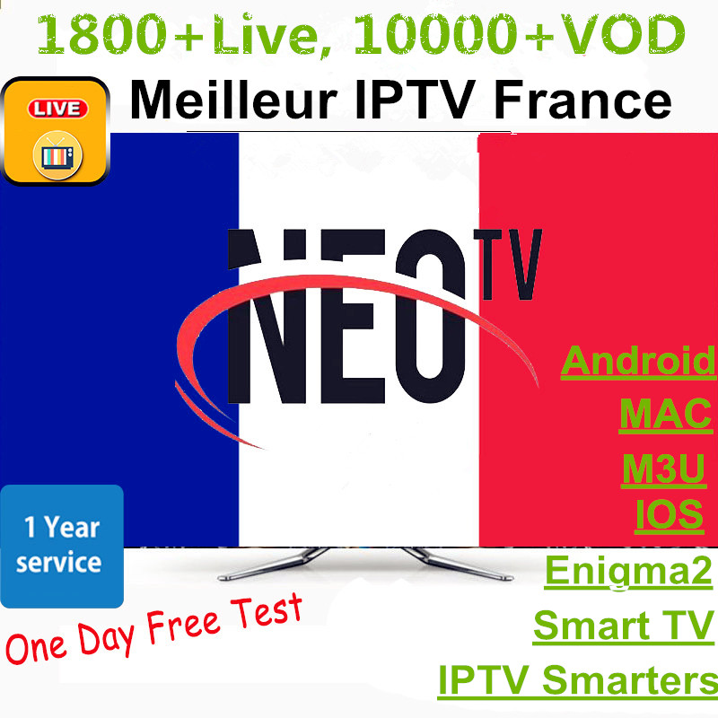 Neotv Pro IPTV Belgium France Arabic Subscription 12 Months Subscription Code IPTV Germany Morocco Netherlands French IP TV