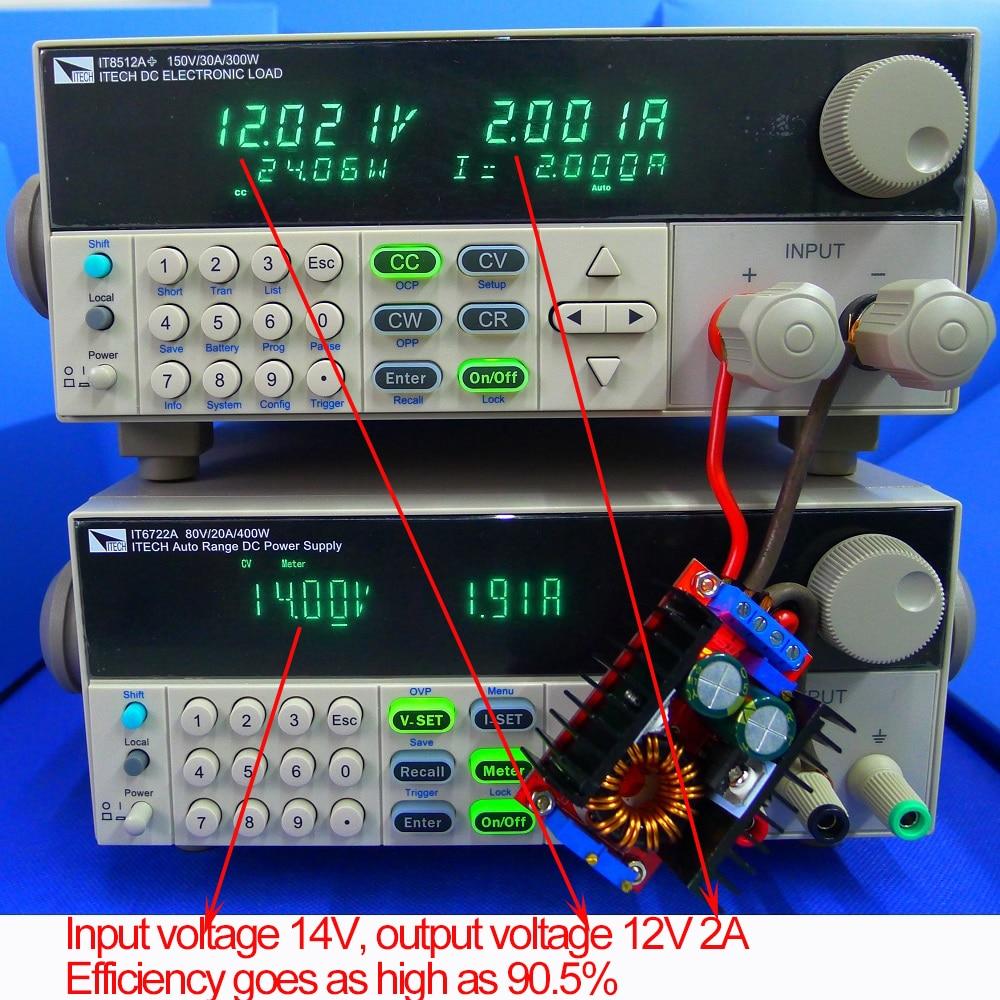 80W CC CV Buck Boost Konverter 9-35V zu 1-35V Einstellbare Buck Booster DC DC Step Down Step Up Adapter Modul Spannung Regler