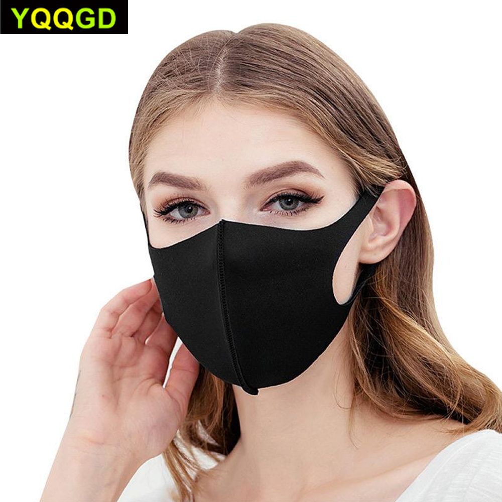 Image 2 - Pollution Mask Anti Air Dust and Smoke with Elastic Earloop Washable Mask Made For Men WomenMasks