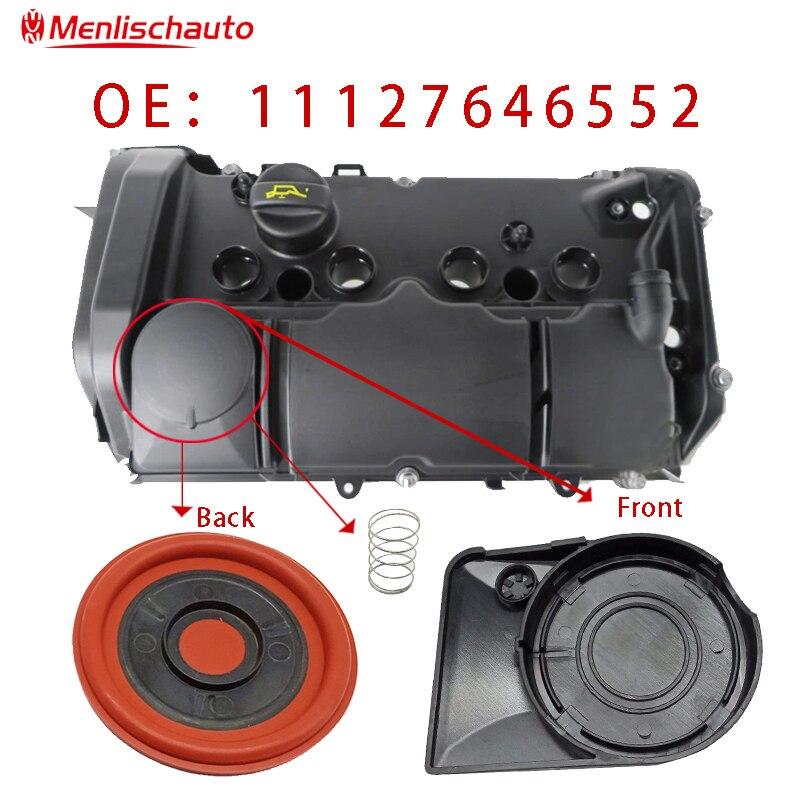 Car Engine Valve Cover Gasket Exhaust Gas Valve 11127646555 11127646552 For German Car JCW R55 R56 R57 R58 R59 N13 N18 07-12