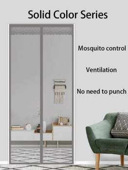 2020 New Indoor Insect Fly Screen Magnetic Curtain Mesh Bug Mosquito Netting Door Anti Mosquito Net For Kitchen Door Magnet 150cmx130cm fly mosquito window net mesh screen indoor insect fly screen curtain mesh bug mosquito net easy to fit with tape y20