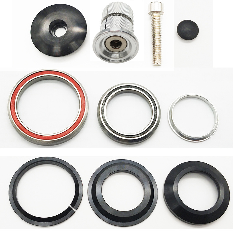 Bicycle Headset Bearing 41.8mm 52mm Bike Front Fork Headset Tapered Tube Cycling Headset Accessory