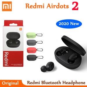 Original Xiaomi Redmi Airdots 2 TWS Bluetooth 5.0 Wireless Bluetooth Earphone Stereo bass Earbuds